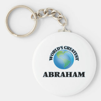 World's Greatest Abraham Key Chains
