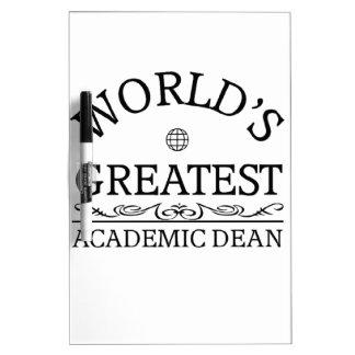 World's greatest Academic Dean Dry-Erase Whiteboards