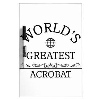 World's greatest Acrobat Dry-Erase Whiteboards
