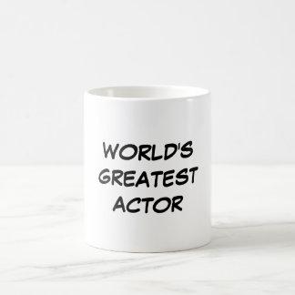 """World's Greatest Actor"" Mug"