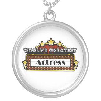World's Greatest Actress Pendants
