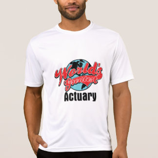 Worlds Greatest Actuary T Shirt