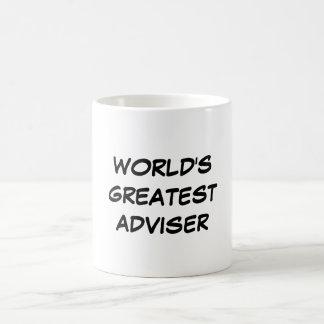"""World's Greatest Adviser"" Mug"