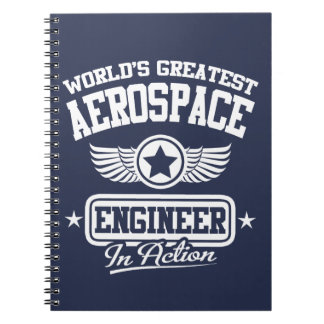 World's Greatest Aerospace Engineer Spiral Notebook