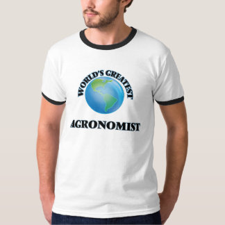 World's Greatest Agronomist T-Shirt