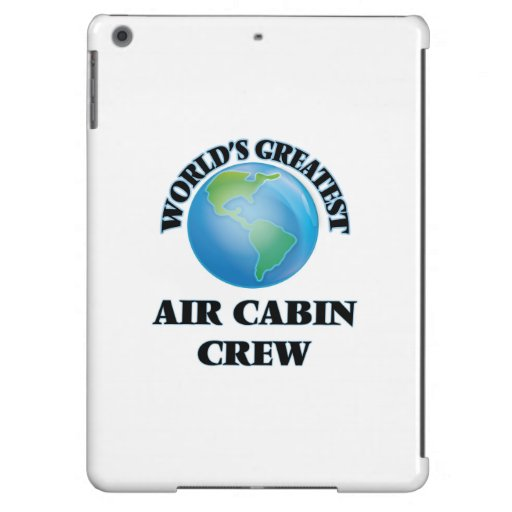 World's Greatest Air Cabin Crew Cover For iPad Air
