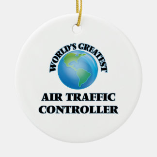 World's Greatest Air Traffic Controller Christmas Ornament