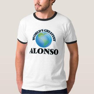 World's Greatest Alonso T-shirts