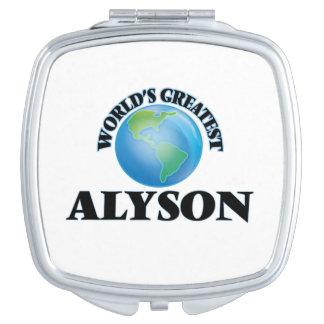 World's Greatest Alyson Vanity Mirrors