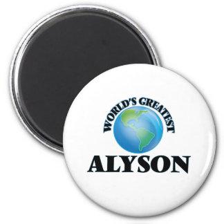 World's Greatest Alyson Refrigerator Magnets