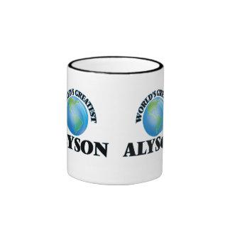 World's Greatest Alyson Ringer Mug