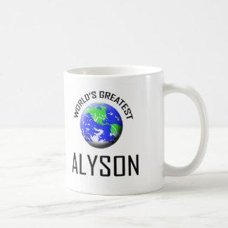 World's Greatest Alyson Coffee Mugs