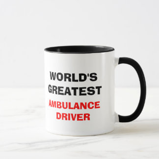 WORLD'S GREATEST  AMBULANCE DRIVER MUG
