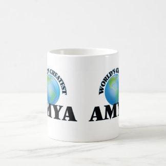World's Greatest Amya Basic White Mug