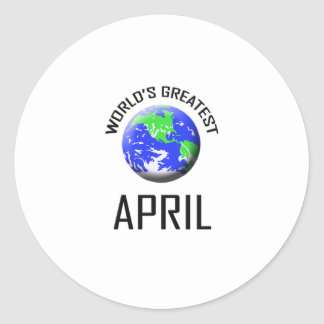 World's Greatest April Stickers