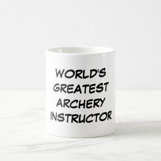 """""""World's Greatest Archery Instructor""""Mug Coffee Mug"""