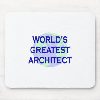 WORLD'S GREATEST ARCHITECT MOUSE MAT