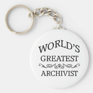World's greatest Archivist Key Ring