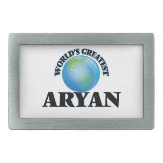 World's Greatest Aryan Rectangular Belt Buckle