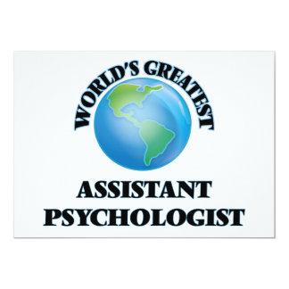 World's Greatest Assistant Psychologist Custom Announcements