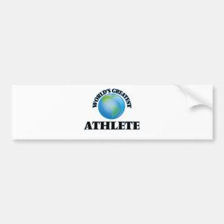 World's Greatest Athlete Bumper Stickers