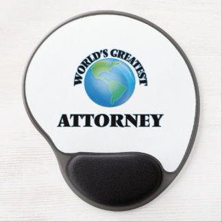 World's Greatest Attorney Gel Mouse Pads