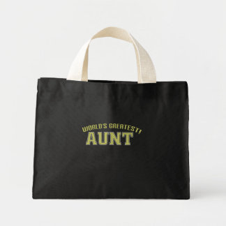 World's Greatest Aunt! Mini Tote Bag