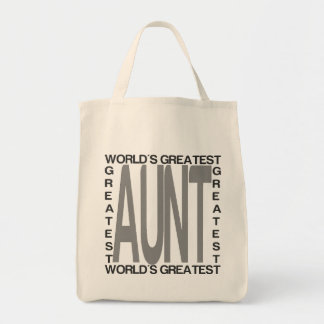 Worlds Greatest Aunt Tote Bag