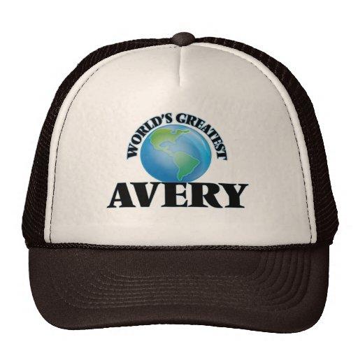 World's Greatest Avery Trucker Hat