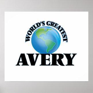 World's Greatest Avery Print