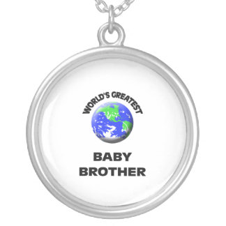 World's Greatest Baby Brother Necklace