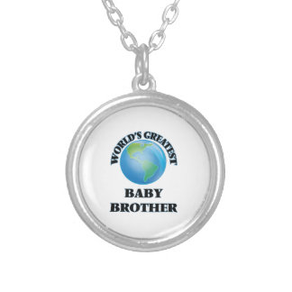 World's Greatest Baby Brother Necklaces