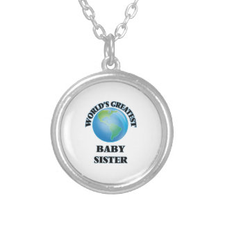 World's Greatest Baby Sister Pendant