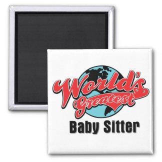Worlds Greatest Baby Sitter Magnet