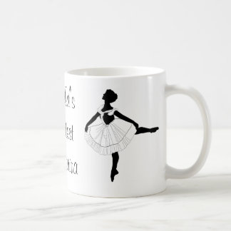 World's greatest ballerina mug
