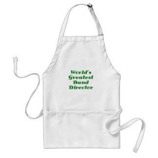 Worlds Greatest Band Director Standard Apron