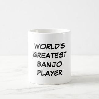 """World's Greatest Banjo Player"" Mug"