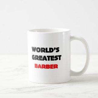 World's greatest barber coffee mug