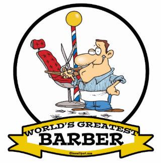 WORLDS GREATEST BARBER MEN CARTOON PHOTO CUTOUTS