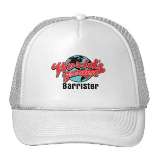 Worlds Greatest Barrister Cap