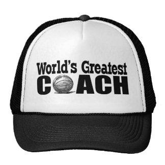 World's Greatest Basketball Coach Cap