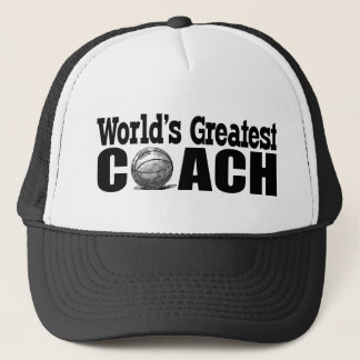 World's Greatest Basketball Coach Trucker Hat
