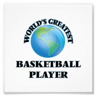 World's Greatest Basketball Player Art Photo