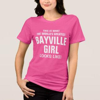 World's Greatest Bayville Girl looks like T-Shirt