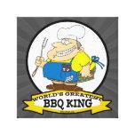 WORLDS GREATEST BBQ KING MEN CARTOON