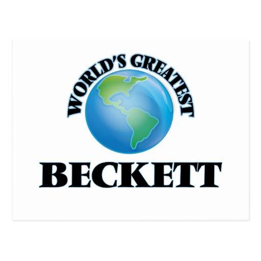 World's Greatest Beckett Post Card