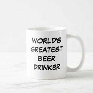 """World's Greatest Beer Drinker"" Mug"