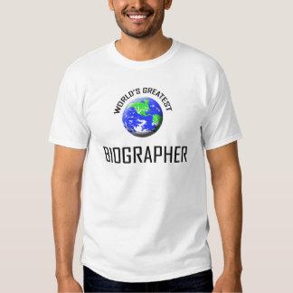 World's Greatest Biographer T Shirt