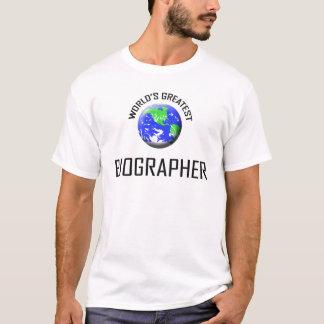 World's Greatest Biographer T-Shirt
