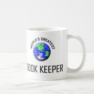World's Greatest Book Keeper Basic White Mug